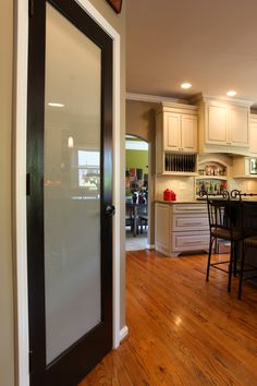 Pantry Door Idea - Why not add some interest instead of a plain white door?