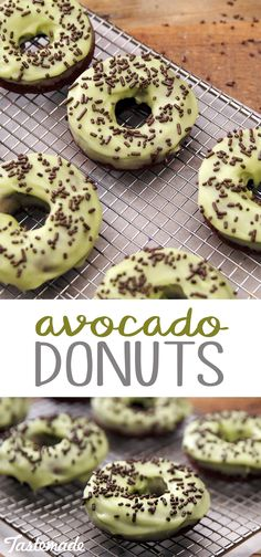 The perfect sweet treat for avocado lovers who may be tired of plain old avocado toast.