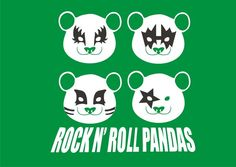 Rock n Roll Pandas on the Behance Network