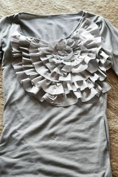 J Crew inspired DIY t shirt