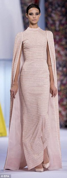Ralph and Russo wow at Paris Haute Couture Fashion Week with red carpet-ready gowns | Daily Mail Online