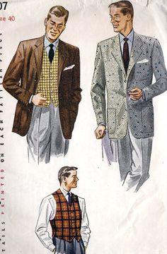Men 1950's; very professor, yes?