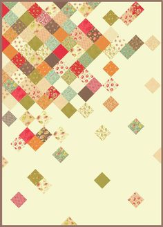 charm quilt ideas Some great quilting ideas with charm … Patchwork Quilt, Scrappy Quilts, Easy Quilts, Small Quilts, Mini Quilts, Quilting Fabric, Charm Pack Quilts, Charm Quilt, Quilt Baby