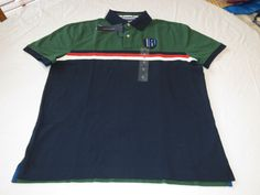 Mens Tommy Hilfiger Polo shirt M 7880977 Dark Green 383 Classic Fit NEW #TommyHilfiger #polo