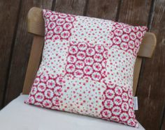 Adorable patchwork cushion