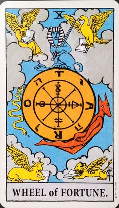 26 April 2015: #DailyCardReading #PsychicReading #tarot #SpiritualGuidance  X WHEEL of FORTUNE ~ Today's keywords: experiences; changing/shifting energies; balance; learning; lessons; knowledge; wisdom; integration; assimilating; self-development; knowing; Dark/Shadow; Light; progression; achieving; achievement; graduating; bigger picture; perspective. ...See the whole reading at https://www.facebook.com/AmethystRoseNewAgeProductsandServices <3 Vanda xx (Rider-Waite Tarot)