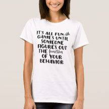 It's All Fun and Games Tee | Zazzle