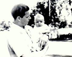 King Mihai I with Princess Margarita, of Romania