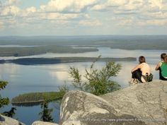 Lapland in the summer