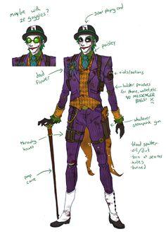 Steampunk Joker sketch by Oriana132 on DeviantArt