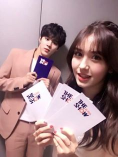 [PIC] The Show update with #SOMI and Wooshin