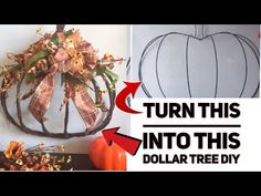 I know a lot of you have purchased the pumpkin wire wreath form from Dollar Tree. I wanted to share with you all, how I decided to decorate mine. Dollar Tree Pumpkins, Dollar Tree Fall, Dollar Tree Decor, Dollar Tree Crafts, Holiday Burlap Wreath, Pumpkin Wreath, Fall Wreaths, Mesh Wreaths, Pumpkin Display