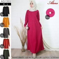 Baju Gamis Kaos Murah AG1353