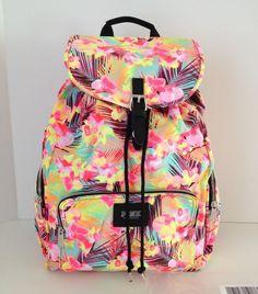 Victoria's Secret Pink Backpack Hawaiian Spring Break Limited Book Bag New