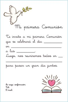 tarjetitas de comunion con palomas - Buscar con Google Baptism Cookies, Cupcake Toppers Free, Baptism Decorations, Communion Invitations, Baptism Party, Ideas Para Fiestas, First Communion, Cardmaking, Lily