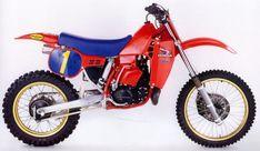 David Bailey Honda HRC 500 cc. 1984