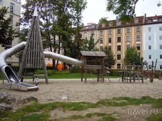 Детские площадки в Мюнхене / Германия