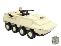 """Custom LEGO Army Infantry Fighting Vehicle """"Stryker"""" by ..."""
