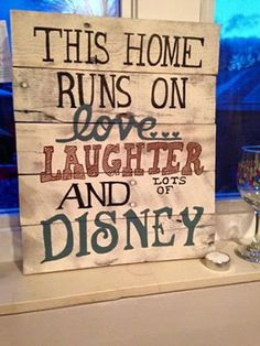 Um MOM!!!!!!! Hey, I found this really awesome Etsy listing at https://www.etsy.com/listing/217412342/rustic-disney-inspired-wall-hanging-made