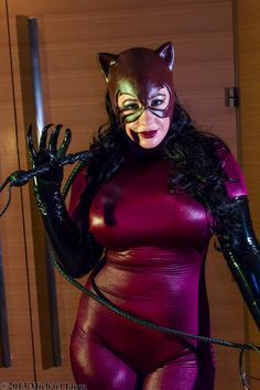Belle Chere as Catwoman  by Insane-Pencil.deviantart.com on @deviantART