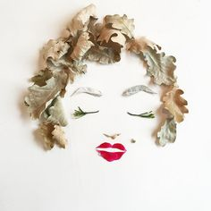 Charming Art Objects - 68 Combinations Of Flowers And Leaves As Beautiful Paintings Art Floral, Art Et Nature, Marilyn Monroe Art, Pressed Flower Art, Leaf Art, Art Object, Flower Petals, Beautiful Paintings, Graffiti