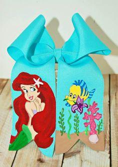 Ariel hand-painted cheer