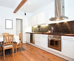 #Kitchen Idea of the Day: Modern white kitchens.