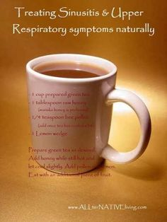 Extraordinary Natural Remedies for Sinusitis Infection, Upper Respiratory Problems and Allergies
