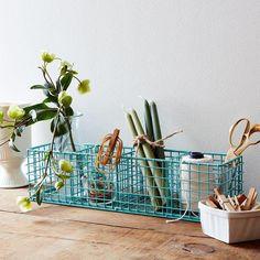 Hard wire everything. #food52shop #organize #wire #basket
