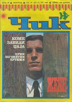 Čik magazine cover  Naslovnica Čik-a    Belgrade/Beograd, 1969.
