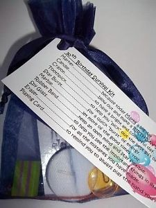 DIY Thirsty Thirty Birthday Survival Kit This kit can be