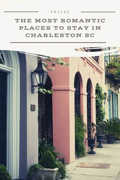 Charleston - the city made for lovers. But you'll want to make sure you book somewhere really special for the perfect getaway with your loved one. Here are our top picks for the most romantic places to stay in Charleston #charleston #travel #america #travel #love Usa Travel Guide, Travel Usa, Travel Guides, Best Places To Travel, Cool Places To Visit, Winter Destinations, Travel Destinations, Best Countries To Visit, Most Romantic Places