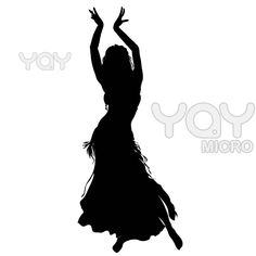 Image detail for -Royalty Free Vector of Bellydance Silhouette