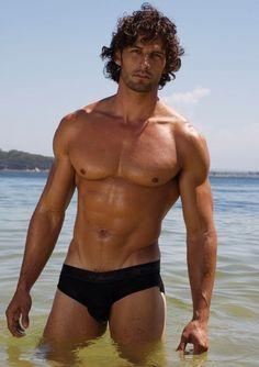 Tim Robards ~ Australian Chiropractor and Model