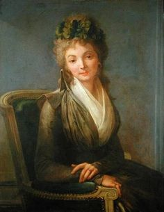 Lucile Desmoulins, nee Duplessis -  wife of Journalist Camille Desmoulins who called French citizens to arms which led to the Storming of the Bastille. Died by guillotine on 13 April 1794. They left behind a 2 year old boy, Horace.