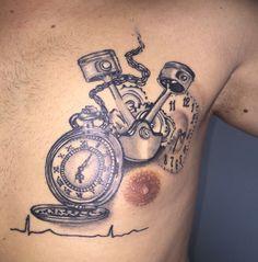 Taschenuhr Tattoos auf Pinterest | Uhr-tattoos, Herren ...