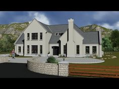 14 Irish House Plans Type Ireland Ie Extraordinary Ideas Types Of Houses, New Builds, Planer, Building A House, House Plans, Yard, Exterior, House Design, How To Plan