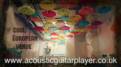 Played at some amazing places in Germany. Anders Hotel walsrode, Germany  www.acousticguitarplayer.co.uk
