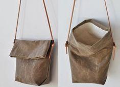 DIY Leather Bag Tutorial - Time To Get Creative leather handbag patterns Thi. DIY Leather Bag Tutorial – Time To Get Creative leather handbag patterns This image has get 3 Leather Purses, Leather Handbags, Leather Totes, Clutch Handbags, Soft Leather, Leather Purse Diy, Diy Leather Tote Bag, Leather Bag Design, Denim Bag