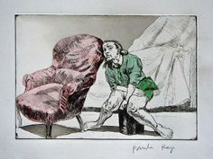 Paula Rego (British/Portuguese, born Etchings and watercolor Sale Artwork, Illustration, Drawings, Etching Prints, Artist, Painting, Lithograph, Woodcut, Printmaking Art