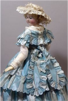 Antique Doll Collector Magazine  Article with Chiffonnette in the new Antique Doll Collector