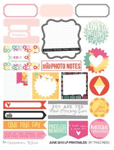 Gossamer Blue: JUNE 2015 Life Pages (Pocket Page Scrapbooking) Kit & Scrapbooking Kit Releases – Featuring Gossamer Blue Exclusive Paper, Stamps, Wood Veneer, Cards, & Print and Cut Files Printable Labels, Printable Stickers, Printable Paper, Planner Stickers, Paper Scrapbook, Pocket Scrapbooking, Planner Sheets, Craft Stickers, Planners