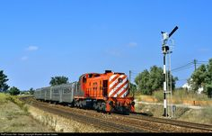 High quality photograph of CP Portugal Alco (CP 1520 class) # 1525 at Pinhal Novo, Portugal. Location Map, Photo Location, Train Art, Bahn, Net, Locomotive, All Over The World, Socks, Iron