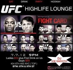 ufc 4th of july 2012
