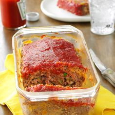 My Mom's Best Meat Loaf Recipe -The Rice Krispies used in this recipe are my mom's secret ingredient. While they may seem odd or out of place, they help hold the meat loaf together. And once they are cooked, no one realizes they're even there. —Kelly Simmons, Hopkinsville, Kentucky