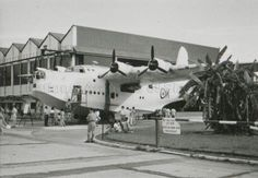 RAF SELETAR OPEN DAY - SHORT SUNDERLAND … 1957