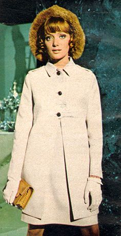Fashion - February, 1969 1969 Fashion, Then And Now, 1960s, February, Culture, Retro, Coat, Jackets, Down Jackets