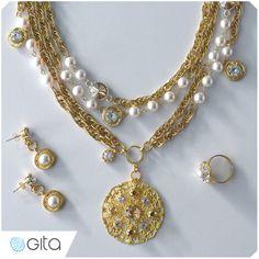 Gita Jewelry School. How to make vintage jewelry with Swarovski pearls. Learn more here: https://www.gita-jewelry.com/en/school/a/tutorial/?ContentID=929