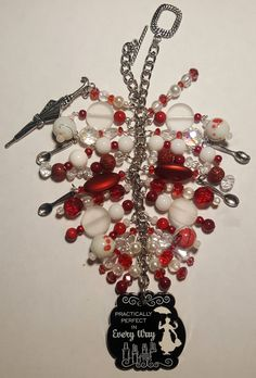 Mary Poppins Purse Charm    ~ available at www.facebook.com/magic365