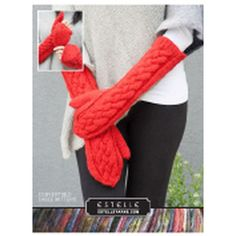 Ravelry: Convertible Cable Mittens pattern by Michelle Porter Mittens Pattern, Knit Mittens, Knitted Gloves, Knitted Bags, Hand Knitting Yarn, Knitting Patterns Free, Free Knitting, Fingerless Mitts, Knitting Accessories